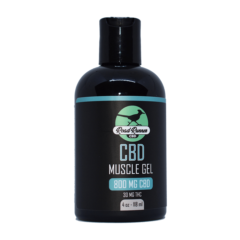 CBD muscle gel rub