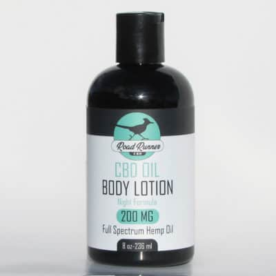 CBD Lotion Night