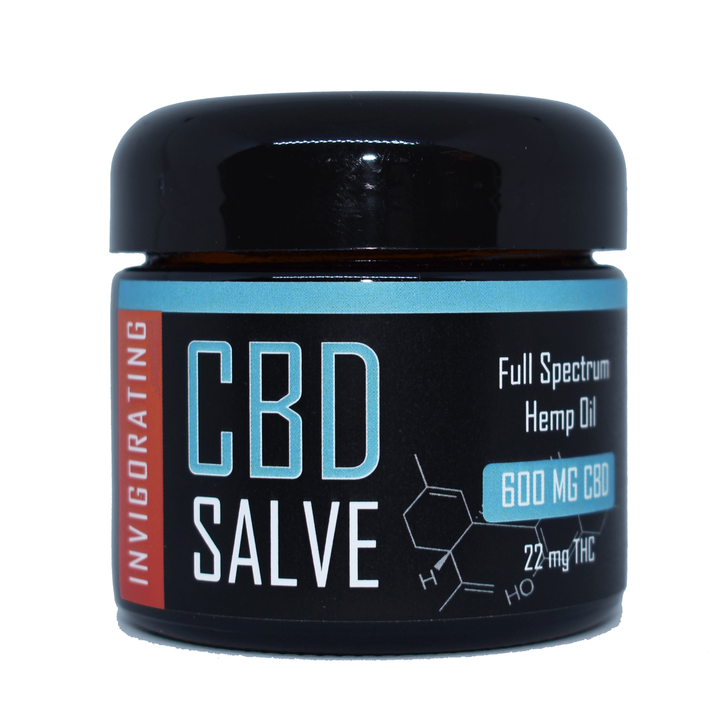 CBD Salve Invigorating 600 mg
