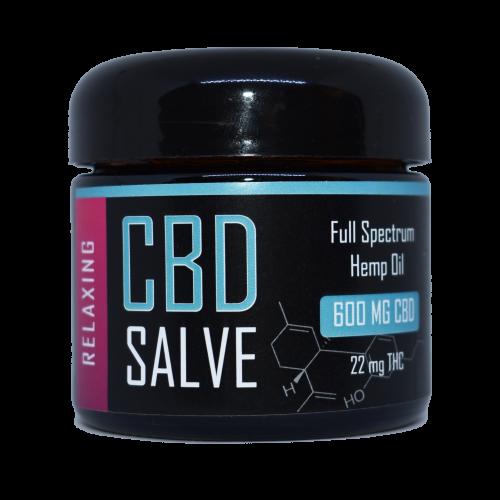CBD Salve Relaxing 600 mg